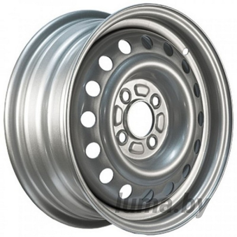 Штампованный диск Magnetto 13000-S Silver / Серебристый 5x13 4x98 ET29 DIA60.1