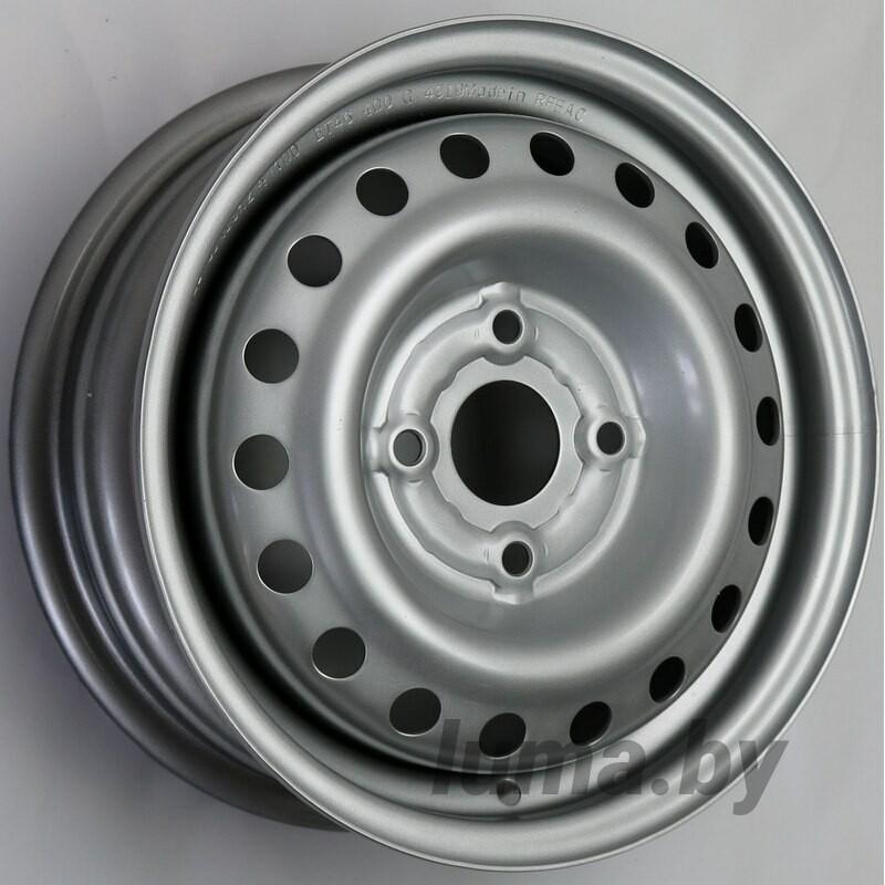 Штампованный диск Trebl 4375 Silver 5x13 4x100 ET46 DIA54.1