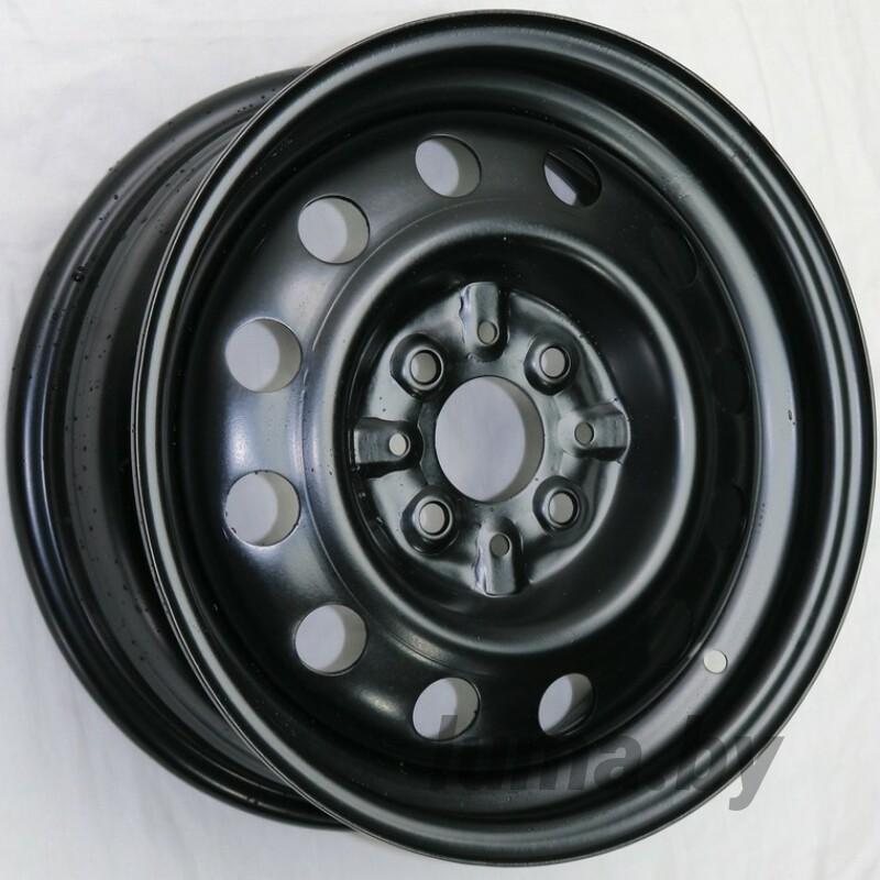 Штампованный диск Евродиск 53B35B black 5.5x14 4x98 ET35 DIA58.5