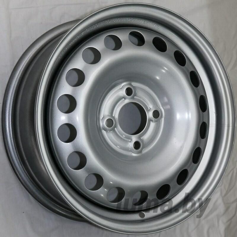 Штампованный диск TREBL X40915_P Silver 6x15 4x100 ET40 DIA60.1